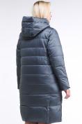 Оптом Куртка зимняя женская молодежная темно-серого цвета 191923_11TС в Казани, фото 4