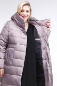 Оптом Куртка зимняя женская молодежная бежевого цвета 191923_12B в Екатеринбурге, фото 2