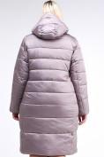 Оптом Куртка зимняя женская молодежная бежевого цвета 191923_12B в Екатеринбурге, фото 5
