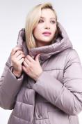 Оптом Куртка зимняя женская молодежная бежевого цвета 191923_12B в Екатеринбурге, фото 7