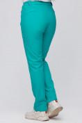 Оптом Брюки женские из ткани softshell бирюзового цвета 1926Br, фото 6