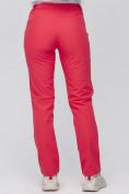 Оптом Брюки женские из ткани softshell розового цвета 1926R в Казани, фото 5