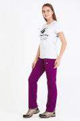 Оптом Костюм женский softshell фиолетового цвета 01977F в Екатеринбурге, фото 8