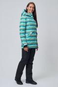 Оптом Женская зимняя горнолыжная куртка бирюзового цвета 1937Br в Екатеринбурге, фото 4