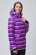 Оптом Женская зимняя горнолыжная куртка темно-фиолетового цвета 1937TF в Екатеринбурге, фото 2