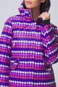 Оптом Женская зимняя горнолыжная куртка темно-фиолетового цвета 1937TF в Екатеринбурге, фото 3