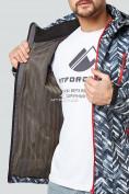 Оптом Ветровка softshell мужская темно-серого цвета 1941TC в  Красноярске, фото 6