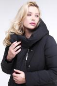 Оптом Куртка зимняя женская классическая одеяло черного цвета 191949_01Ch в Нижнем Новгороде, фото 6