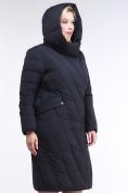 Оптом Куртка зимняя женская классическая одеяло темно-серого цвета 191949_11TC в Нижнем Новгороде, фото 7
