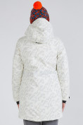 Оптом Куртка парка зимняя женская белого цвета 1949Bl в  Красноярске, фото 6