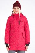 Оптом Куртка парка зимняя женская розового цвета 1949R в Екатеринбурге, фото 3