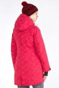 Оптом Куртка парка зимняя женская розового цвета 1949R в Екатеринбурге, фото 5