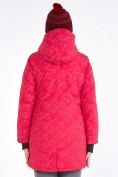 Оптом Куртка парка зимняя женская розового цвета 1949R в Екатеринбурге, фото 6