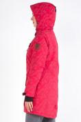 Оптом Куртка парка зимняя женская розового цвета 1949R в Екатеринбурге, фото 8