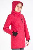 Оптом Куртка парка зимняя женская розового цвета 1949R в Екатеринбурге, фото 9