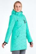 Оптом Куртка парка зимняя женская зеленого цвета 1949Z в Нижнем Новгороде, фото 3