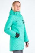 Оптом Куртка парка зимняя женская зеленого цвета 1949Z в Нижнем Новгороде, фото 4