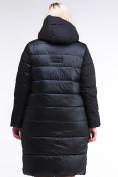 Оптом Куртка зимняя женская одеяло черного цвета 1959_01Ch в Екатеринбурге, фото 4