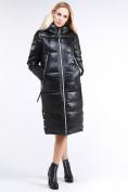Оптом Куртка зимняя женская классическая черного цвета 1962_01Ch в Нижнем Новгороде