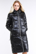 Оптом Куртка зимняя женская классическая черного цвета 1962_01Ch в Нижнем Новгороде, фото 3