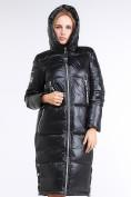 Оптом Куртка зимняя женская классическая черного цвета 1962_01Ch в Нижнем Новгороде, фото 6