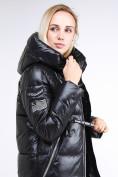 Оптом Куртка зимняя женская классическая черного цвета 1962_01Ch в Нижнем Новгороде, фото 7