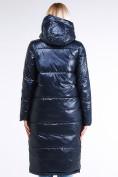 Оптом Куртка зимняя женская классическая темно-синего цвета 1962_02TS в Екатеринбурге, фото 4