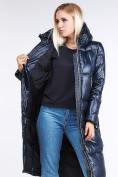 Оптом Куртка зимняя женская классическая темно-синего цвета 1962_02TS в Екатеринбурге, фото 8