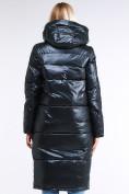 Оптом Куртка зимняя женская классическая темно-серого цвета 1962_03TС в Казани, фото 4