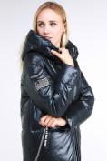 Оптом Куртка зимняя женская классическая темно-серого цвета 1962_03TС в Казани, фото 6