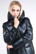 Оптом Куртка зимняя женская классическая темно-серого цвета 1962_03TС в Казани, фото 7
