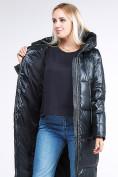 Оптом Куртка зимняя женская классическая темно-серого цвета 1962_03TС в Казани, фото 8