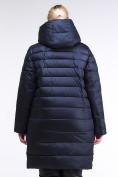Оптом Куртка зимняя женская классика темно-синего цвета 1968_02TS в Казани, фото 5
