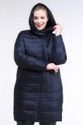 Оптом Куртка зимняя женская классика темно-синего цвета 1968_02TS в Казани, фото 6