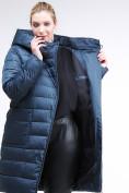 Оптом Куртка зимняя женская классика темно-зеленого цвета 1968_03TZ в Екатеринбурге, фото 7