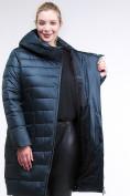 Оптом Куртка зимняя женская классика болотного цвета 1968_20Bt в Казани, фото 6