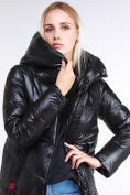 Оптом Куртка зимняя женская молодежная черного цвета 1969_01Ch в  Красноярске, фото 6