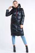 Оптом Куртка зимняя женская молодежная темно-зеленого цвета 1969_03TZ в  Красноярске