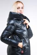 Оптом Куртка зимняя женская молодежная темно-зеленого цвета 1969_03TZ в  Красноярске, фото 8