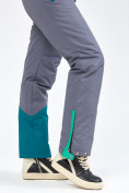 Оптом Женский зимний комбинезон зеленого цвета 19691Z в Казани, фото 30