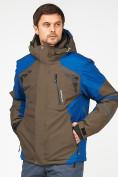Оптом Мужской зимний горнолыжный костюм цвета хаки 01972Kh, фото 5