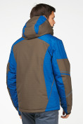 Оптом Мужской зимний горнолыжный костюм цвета хаки 01972Kh, фото 6