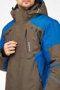 Оптом Мужской зимний горнолыжный костюм цвета хаки 01972Kh, фото 9