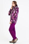 Оптом Костюм женский softshell фиолетового цвета 01977F в Екатеринбурге, фото 4