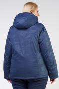 Оптом Куртка горнолыжная женская большого размера темно-синего цвета 21982TS в Екатеринбурге, фото 6