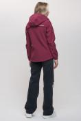 Оптом Ветровка MTFORCE женская бордового цвета 20014-1Bo, фото 7