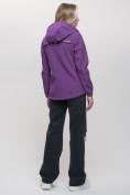 Оптом Ветровка MTFORCE женская фиолетового цвета 20014-1F, фото 5
