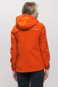 Оптом Ветровка MTFORCE женская оранжевого цвета 20014-1O в Екатеринбурге, фото 6