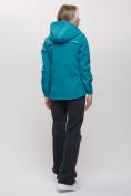 Оптом Ветровка MTFORCE женская бирюзового цвета 20014Br, фото 6