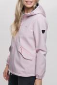 Оптом Ветровка MTFORCE женская розового цвета 20014R, фото 10